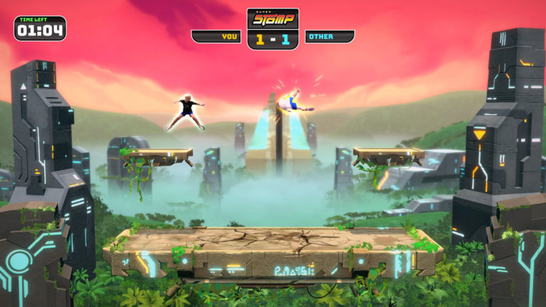 Squash your friends in Super Stomp!