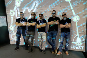 Valo Motion crew international trade show