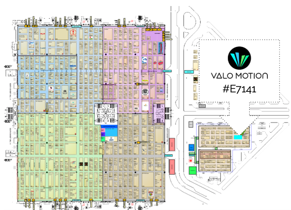 Valo Motion AR game platforms at IAAPA Expo