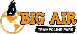 Big Air trampoline park logo - Valo Motion customer