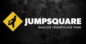 Jumpsquare trampoline park logo - Valo Motion customer