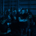 Valo Motion Crew at a video production set