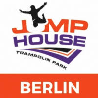 Jump house trampoline park logo Valo Motion customer